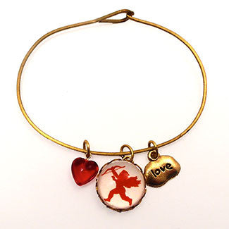 Cupid Messenger of Love Bracelet