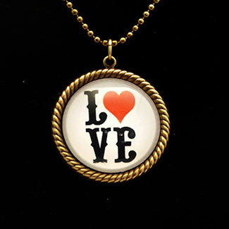 Love Letters Spell Out Your Feelings Necklaces
