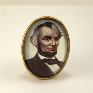 Abe's A Babe - Abraham Lincoln Brooch