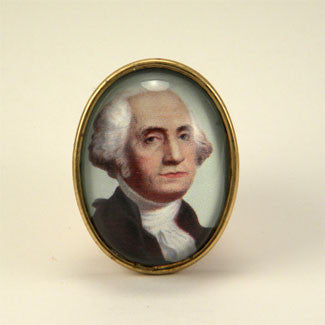 Can't Tell A Lie George Washington Brooch