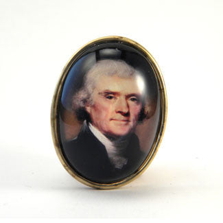 Thomas Jefferson Brooch