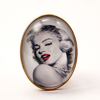Marilyn Monroe Brooch