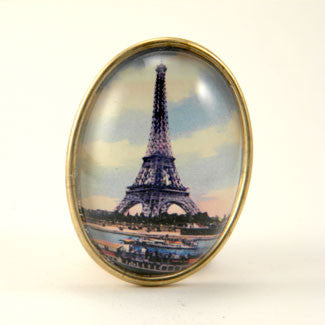 Eiffel Tower April In Paris Brooch