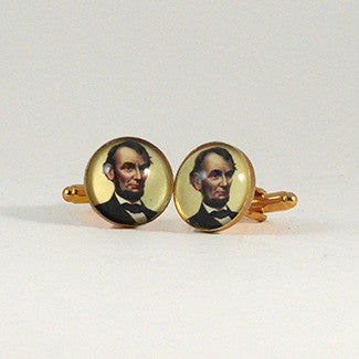Abe's A Babe - Abraham Lincoln Presidential Cuff Links