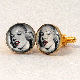 Marilyn Monroe Cuff Links