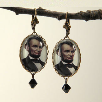 Abe The Babe - Abraham Lincoln Earrings