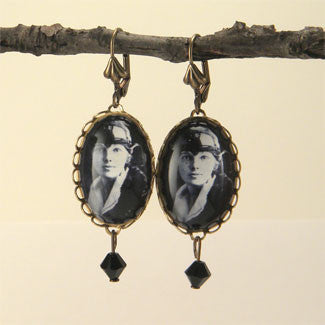 Amelia The Aviator - Amelia Earhart Earrings