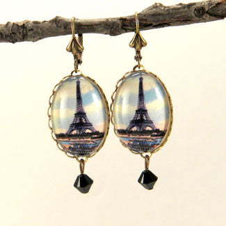 Eiffel Tower April In Paris Earrings