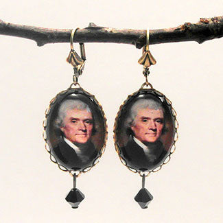 Thomas Jeferson Earrings