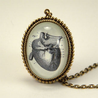 If I Only Had A Heart - Anatomical Heart Engraving