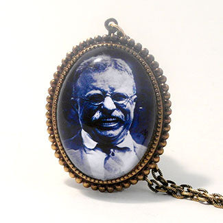 "Theodore ""Teddy"" Roosevelt Deluxe Necklace"