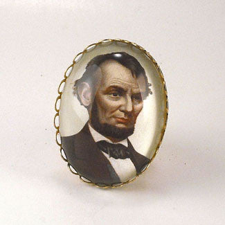 Abe's A Babe - Abraham Lincoln Cocktail Ring