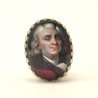 Ben Franklin Cocktail Ring