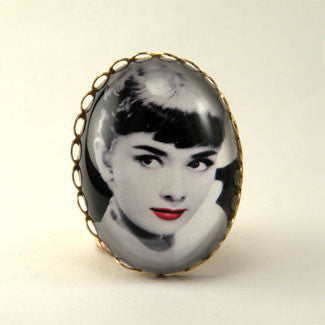 Audrey Hepburn Cocktail Ring