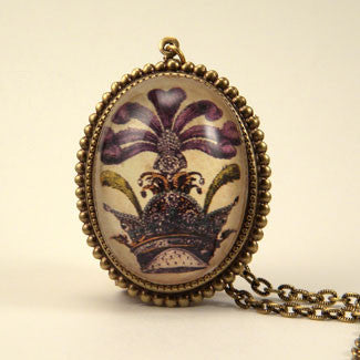 The Grand Poobah Royal Image Pendant Necklaces