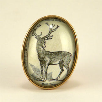 Uncle Buck Woodland Deer Brooch