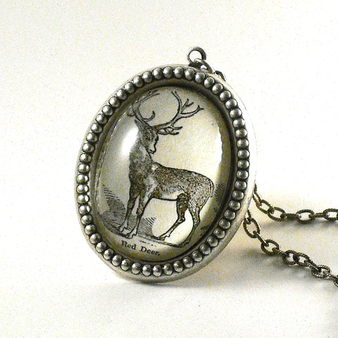 Uncle Buck Woodland Deer Necklaces