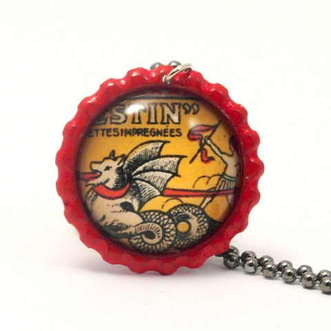 Dragon - Matchbox Art Jewelry