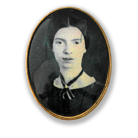 Emily Dickinson Brooch
