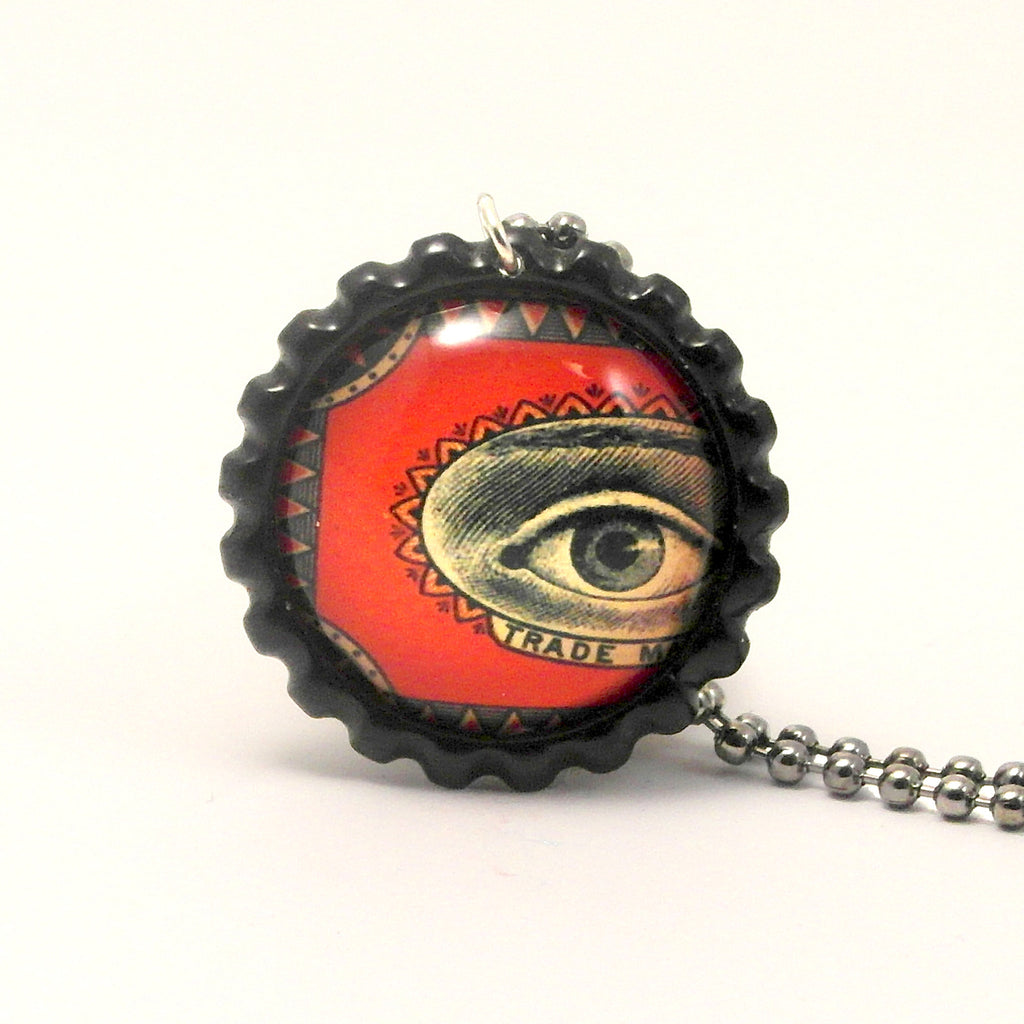 Eyeball Trademark - Matchbox Art Jewelry