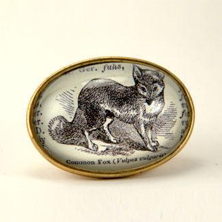 The Sly Fox Brooch  - Animals of the Woods Jewelry
