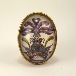 The Grand Poobah Royal Image Brooch