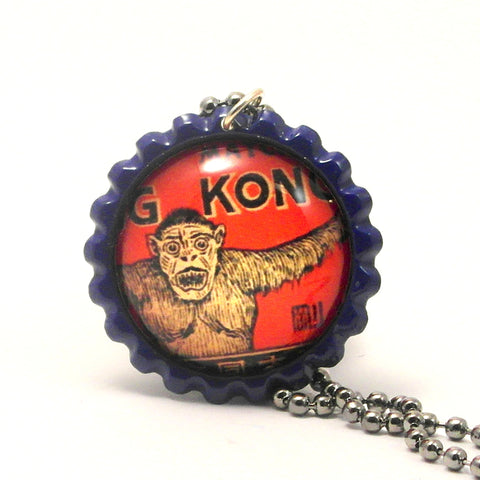 King Kong Gorilla - Matchbox Art Jewelry