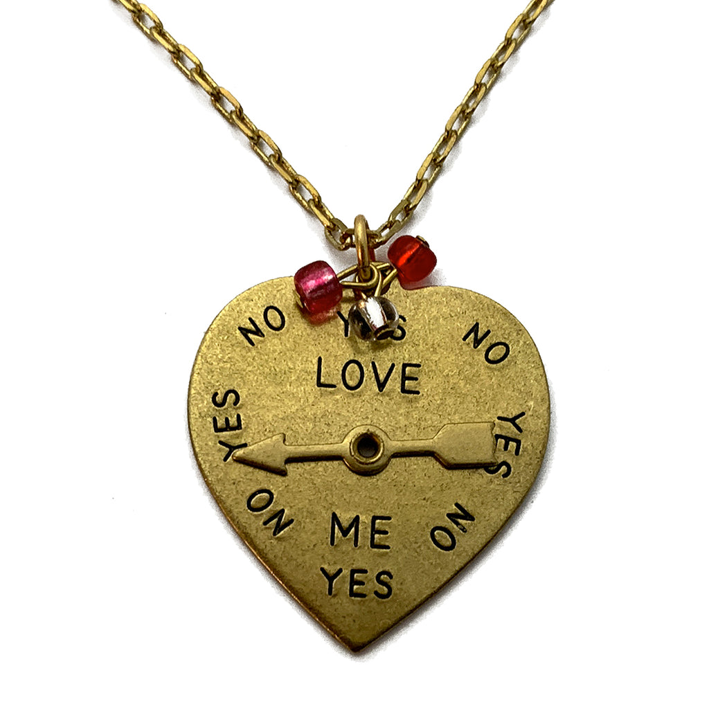 The Love-O-Meter Spinning Charm Necklace