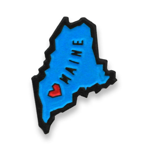 Maine State Enamel Pin