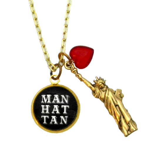 ManHatTan mid town New York Necklace