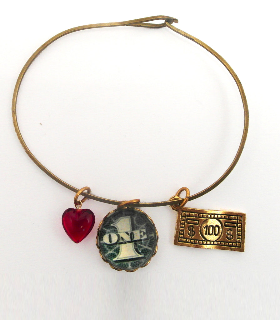 Great Investment $1.00 into $100.00 Charm Bracelet
