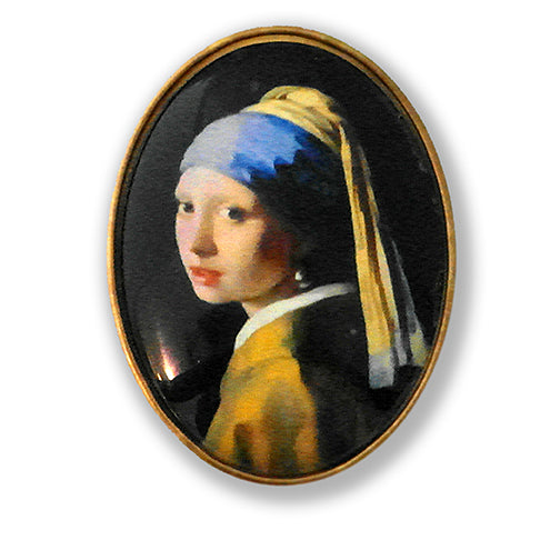 Girl With The Pearl Earring - by Vermeer