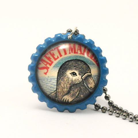 Platypus - Matchbox Art Jewelry