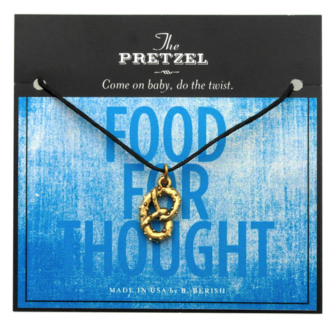 The Pretzel Charm Necklace