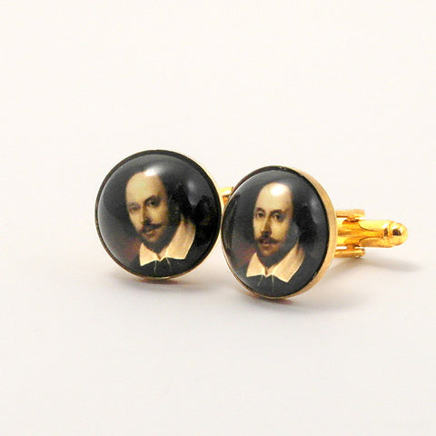 William Shakespeare - Thesbian Chic Cuff Links