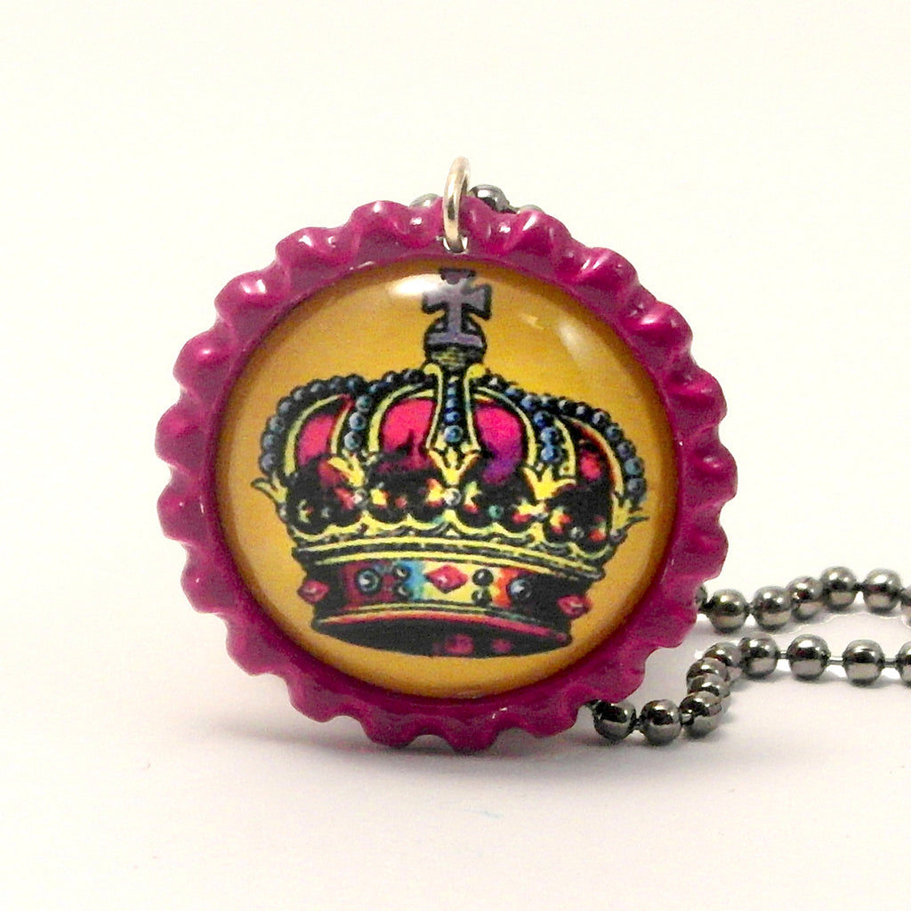 The Crown - La corona - Mexican Loteria Card Jewelry