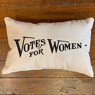 Votes For Women Handmade Canvas Pillow