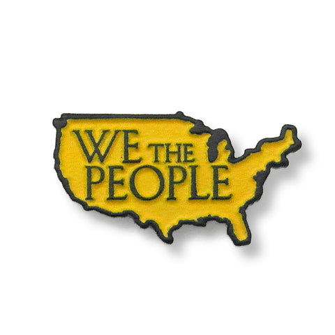 We The People United States of America Enamel Pin