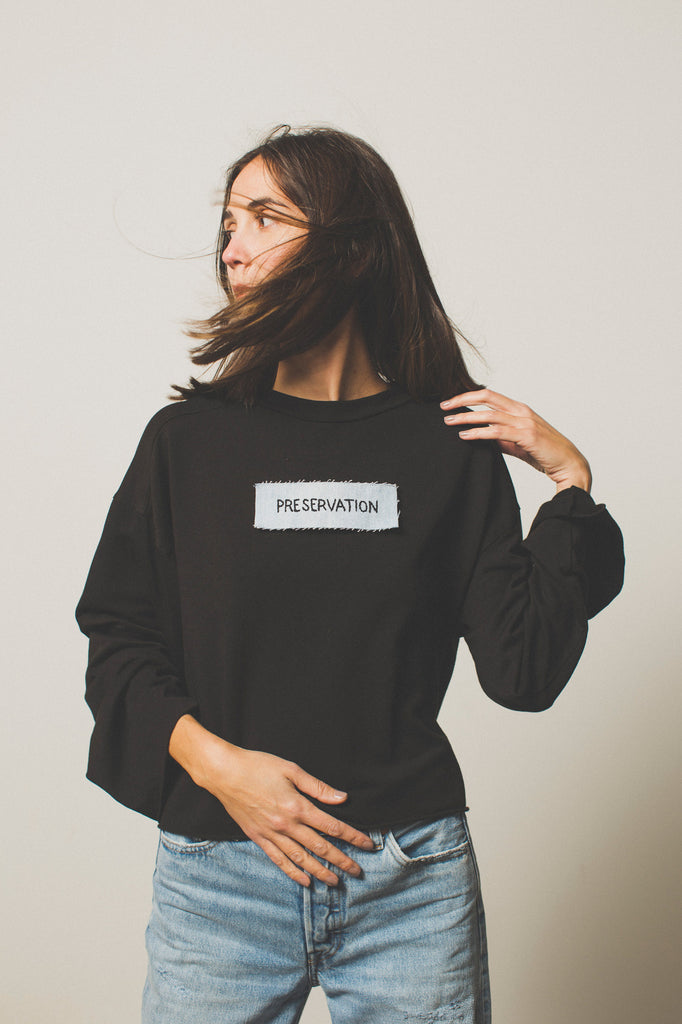 preservation sweatshirt