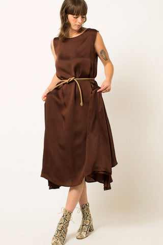 October Flare Dress | Umber