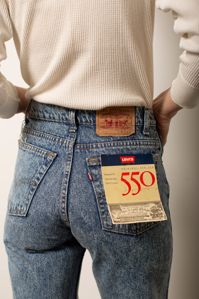 High-Rise Deadstock 550 Levis