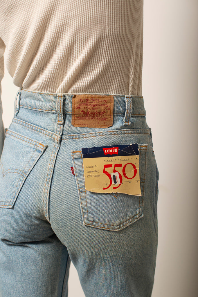 High-Rise 550 Dead-stock Levis