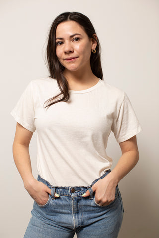 Ojai Tee - Washed White