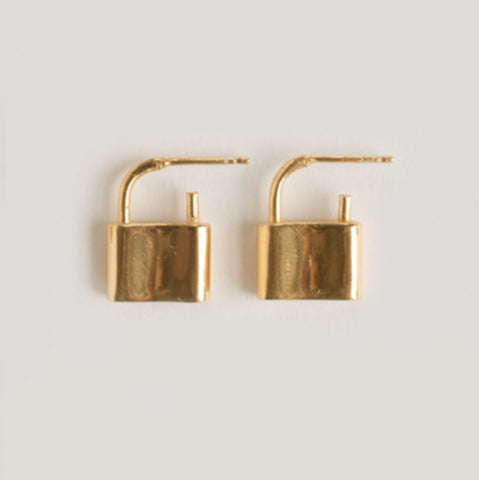 Holmes Earrings - Gold
