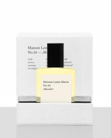 No.10 Aboukir - Perfume oil Maison Louis Marie