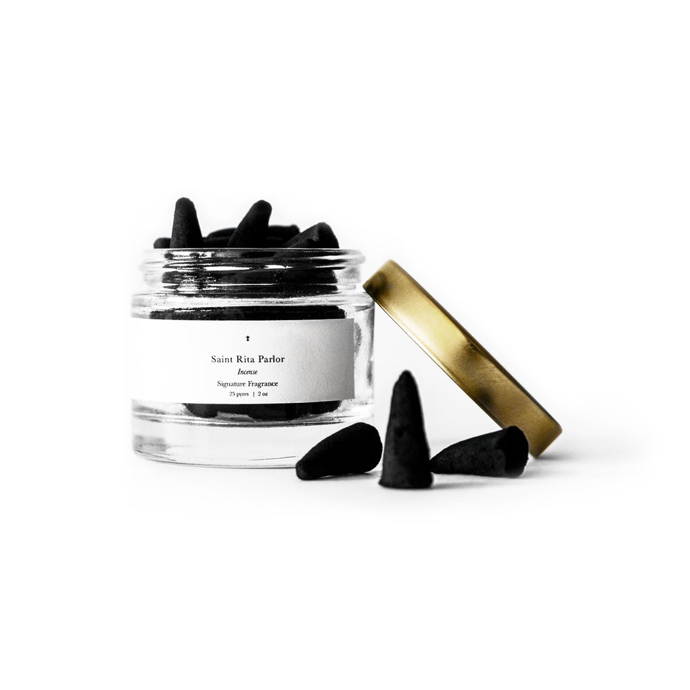 Incense | Signature Fragrance Saint Rita Parlor