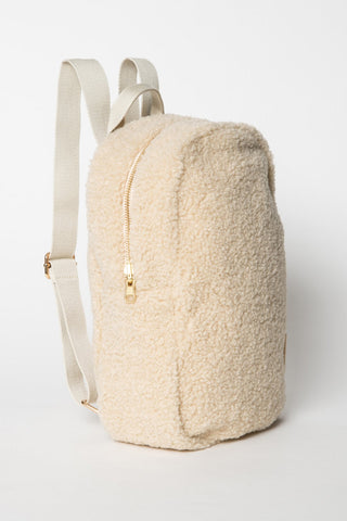 Mini Chunky Backpack - Ecru