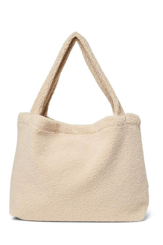 Mom Bag - Ecru Chunky Teddy