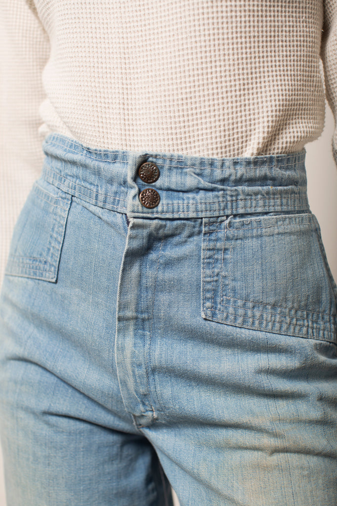 70s High-Rise Wide Leg Jeans