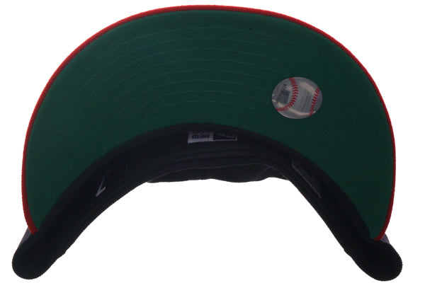 Exclusive New Era 59Fifty Boston Red Sox 1950 Hat - 2T Navy, Red